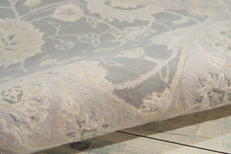 Nourison 2000 Traditional, Rustic/Vintage, Slate 8'6″ x 11'6″ 2204SLT9X12