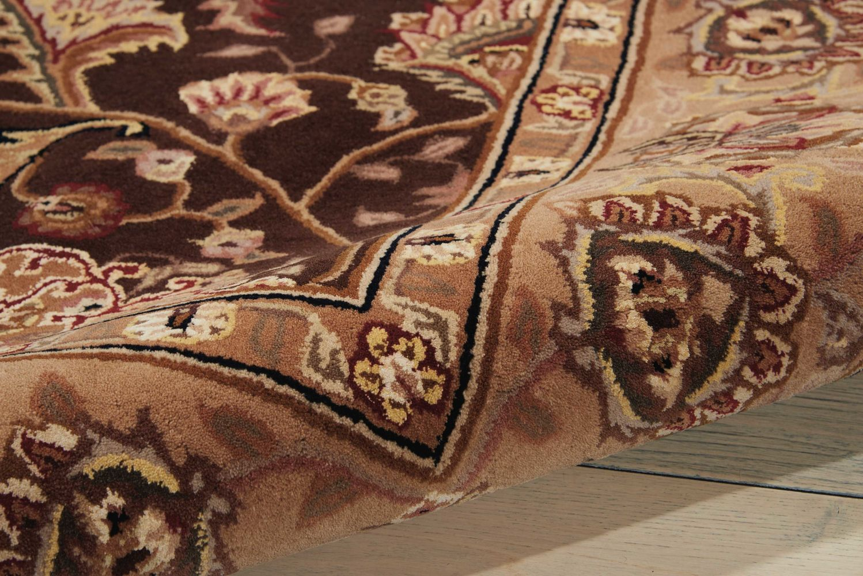 Nourison 2000 Traditional, Brown 2'6″ x 4'3″ 2206BRWN3X5