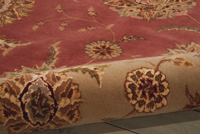 Nourison 2000 Traditional, Rose 8'0″ x 8'0″ Round 2215RSROUND