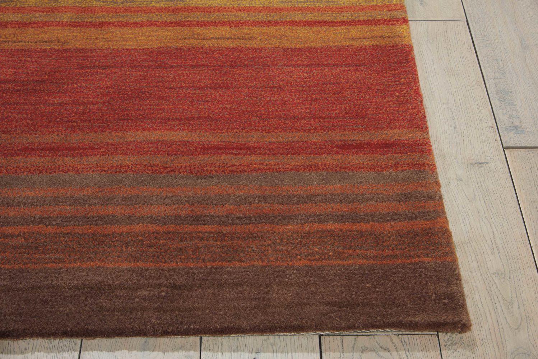 Nourison Contour Striped Harvest 8'0″ x 10'6″ CON15HRVST8X10
