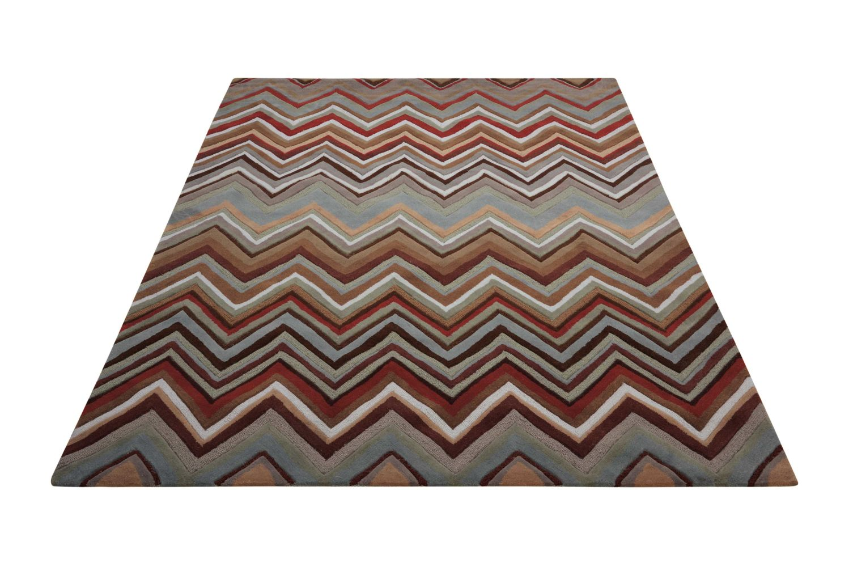 Nourison Contour Modern/Contemporary, Multicolor 3'6″ x 5'6″ CON23MLTCLR4X6