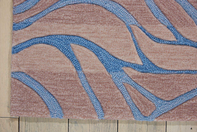 Nourison Contour Ocean Sand 3'6″ x 5'6″ CON25CNSND4X6