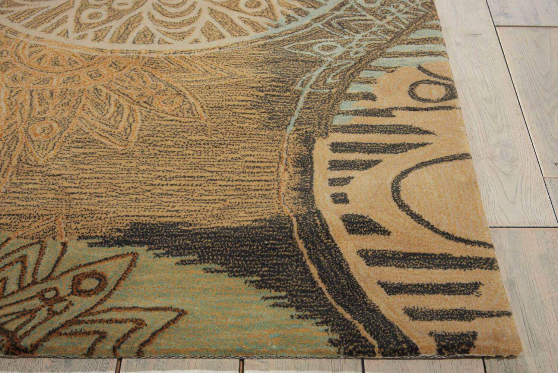Nourison Contour Modern/Contemporary, Multicolor 3'6″ x 5'6″ CON45MLTCLR4X6