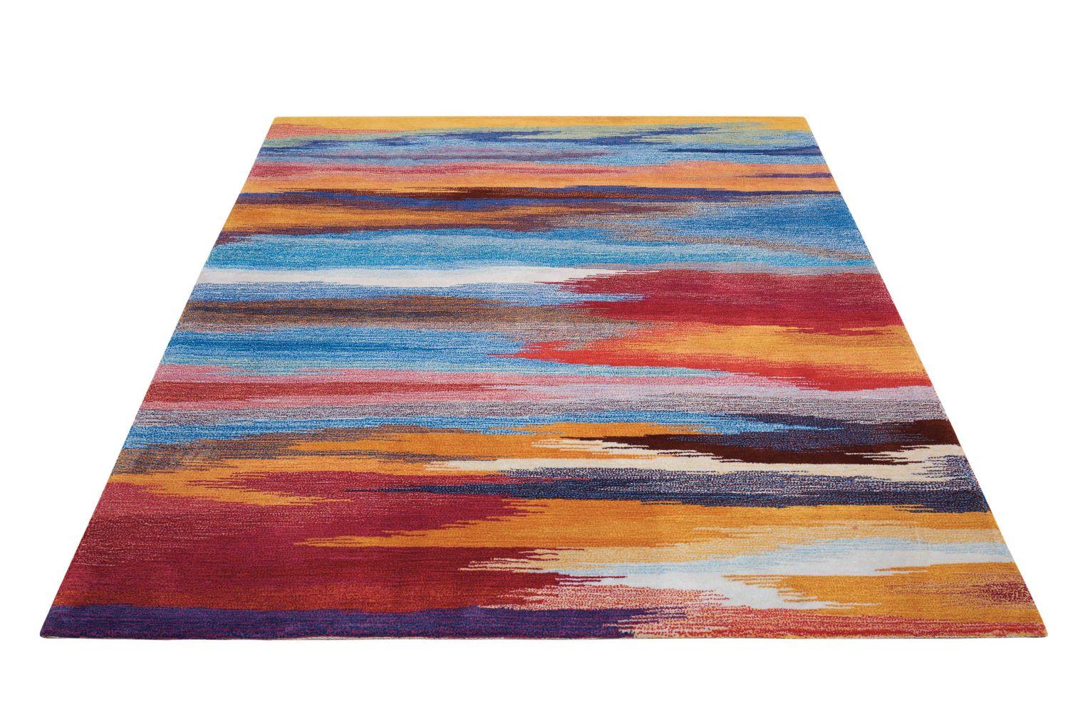 Nourison Contour Modern/Contemporary, Sunset 5'0″ x 7'6″ CON78SNST5X8
