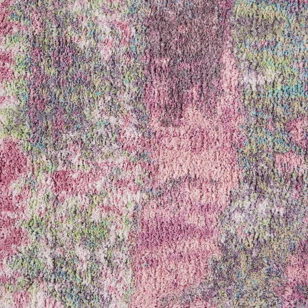 Nourison Corsica Shag Pink 7'6″ x 9'6″ CRC02PNK8X10