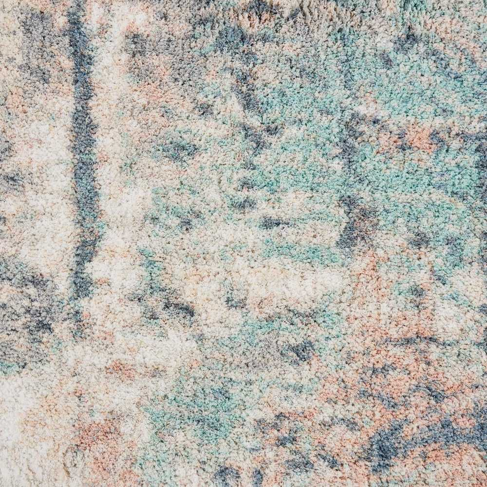 Nourison Corsica Shag Slate Blue 5'0″ x 7'0″ CRC02SLTBL5X8