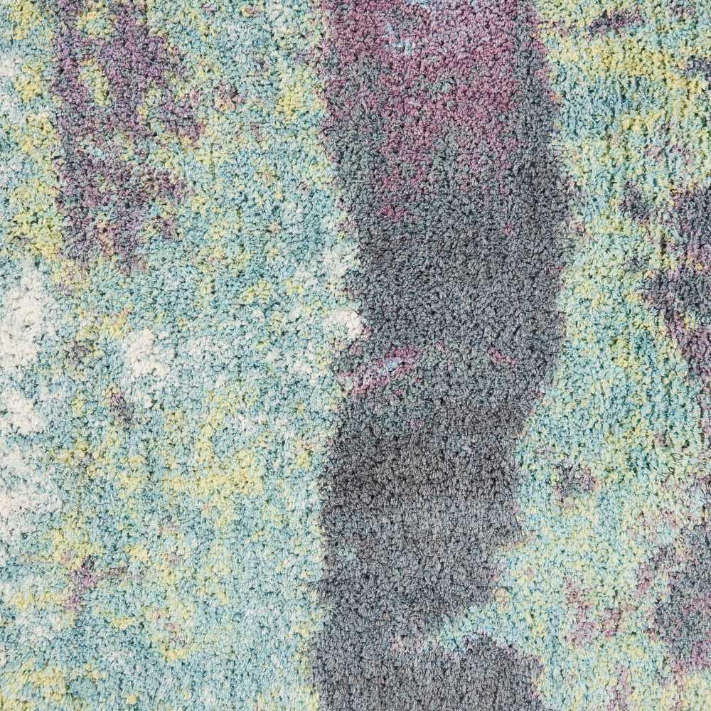 Nourison Corsica Shag Teal 7'6″ x 9'6″ CRC02TL8X10