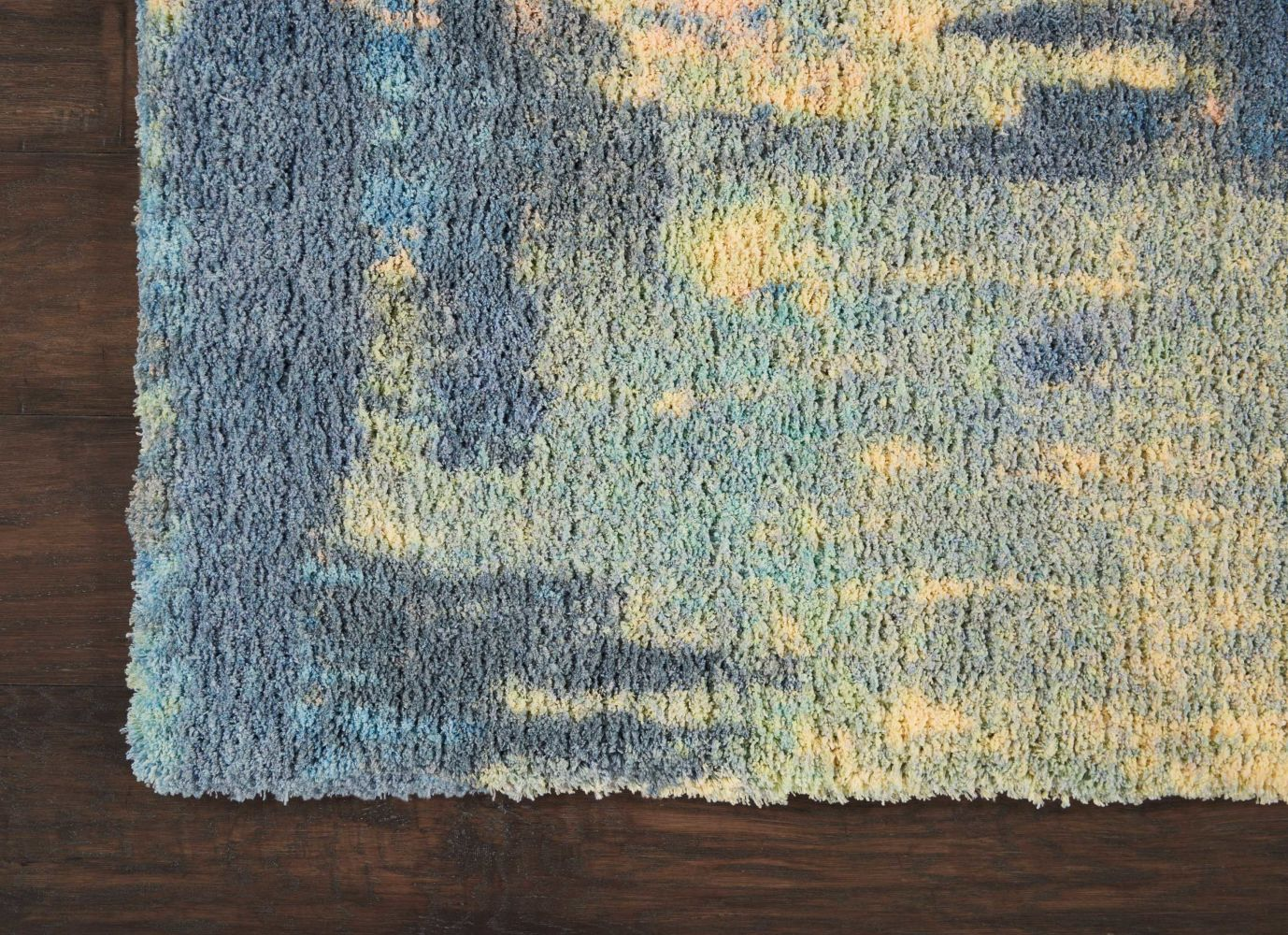 Nourison Corsica Shag Multicolor 5'0″ x 7'0″ CRC03MLTCLR5X8