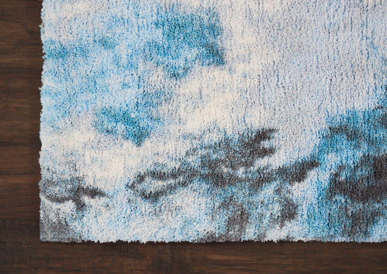 Nourison Corsica Shag Blue Multicolor 7'6″ x 9'6″ CRC04BLMLTCLR8X10