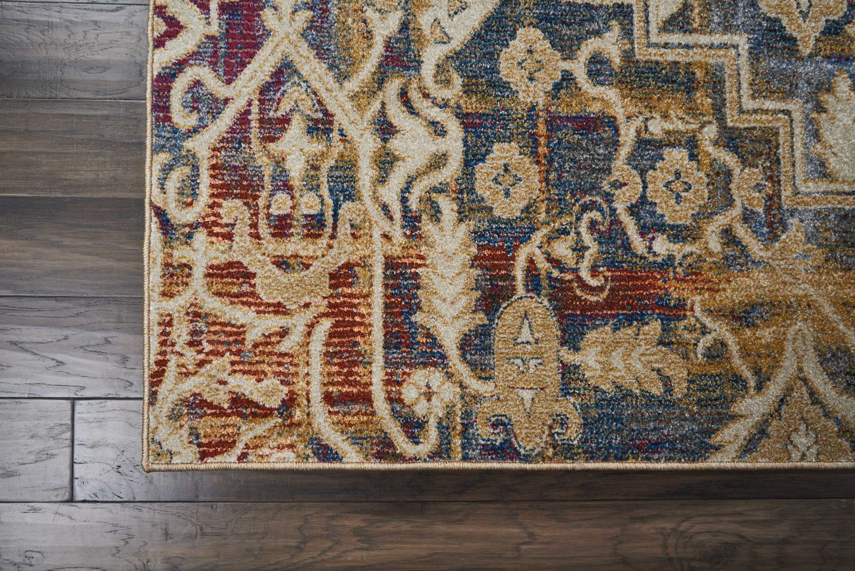 Nourison Cordoba Modern/Contemporary, Multicolor 9'3″ x 12'9″ CRD02MLTCLR9X12