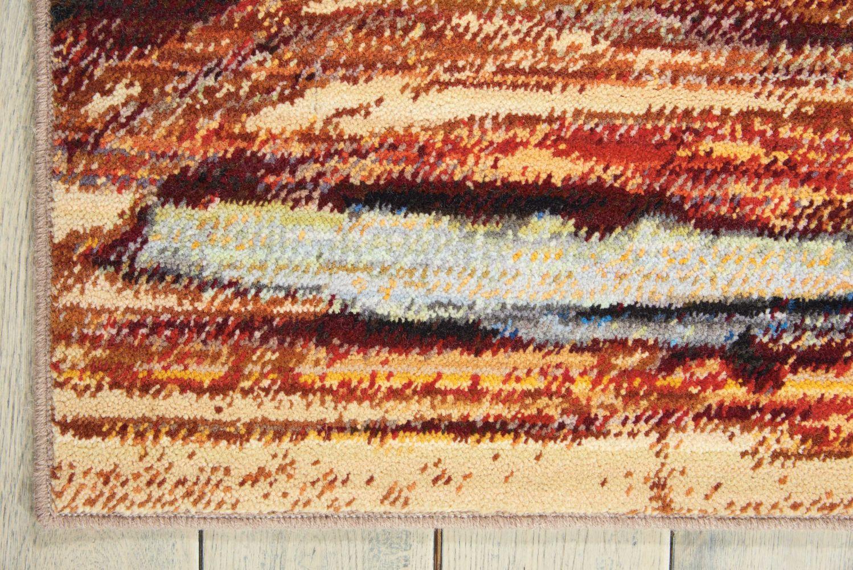 Nourison Chroma Lava Flow 5'6″ x 8'0″ CRM04LVFLW5X8