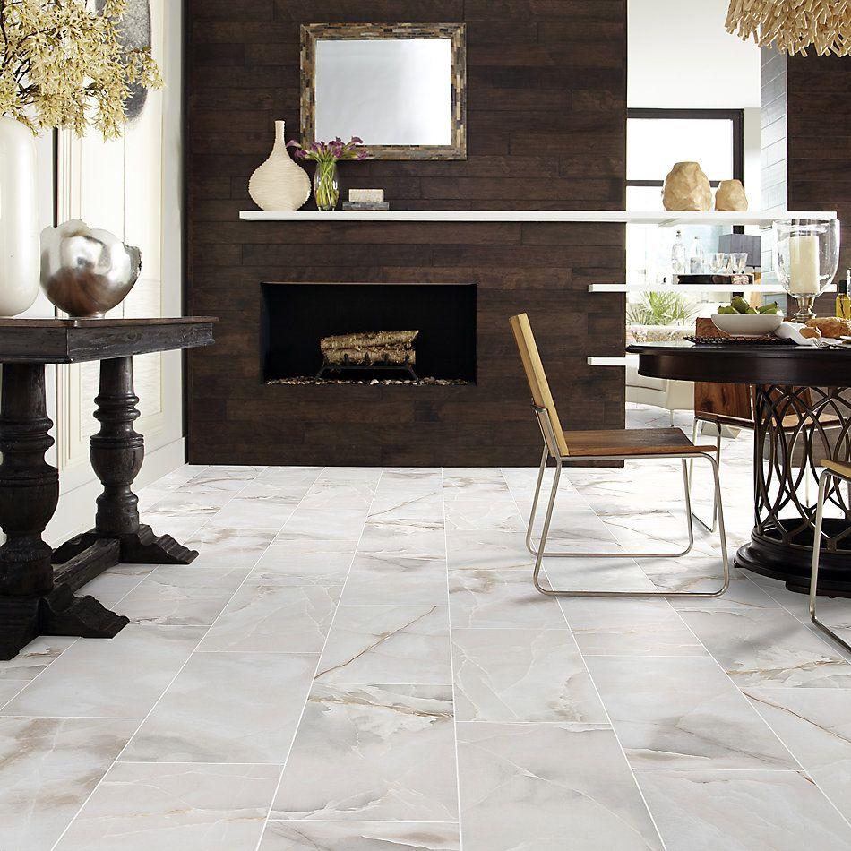 Shaw Floors Ceramic Solutions Gemstone 12×24 Polished White 00100_338TS