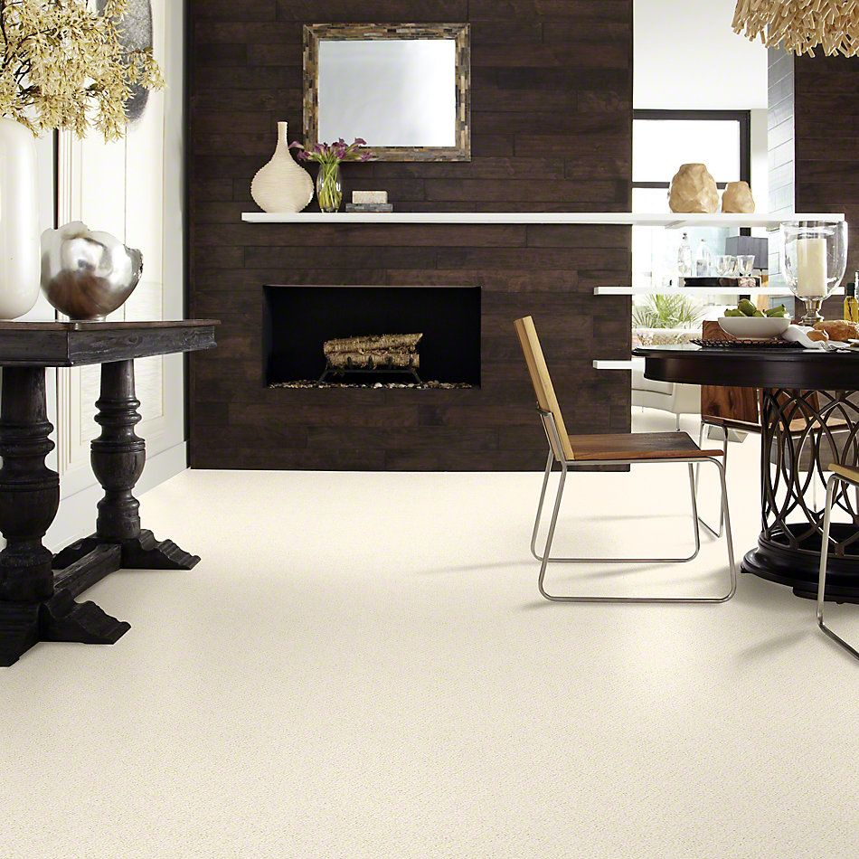 Shaw Floors Shaw Flooring Gallery Supreme Comfort Loop China Pearl 00100_5469G