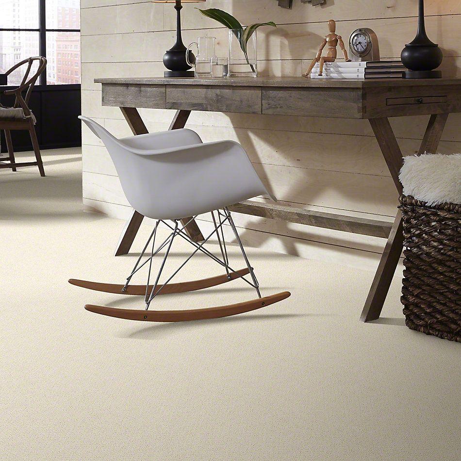 Shaw Floors Shaw Flooring Gallery Subtle Shimmer Loop China Pearl 00100_5568G