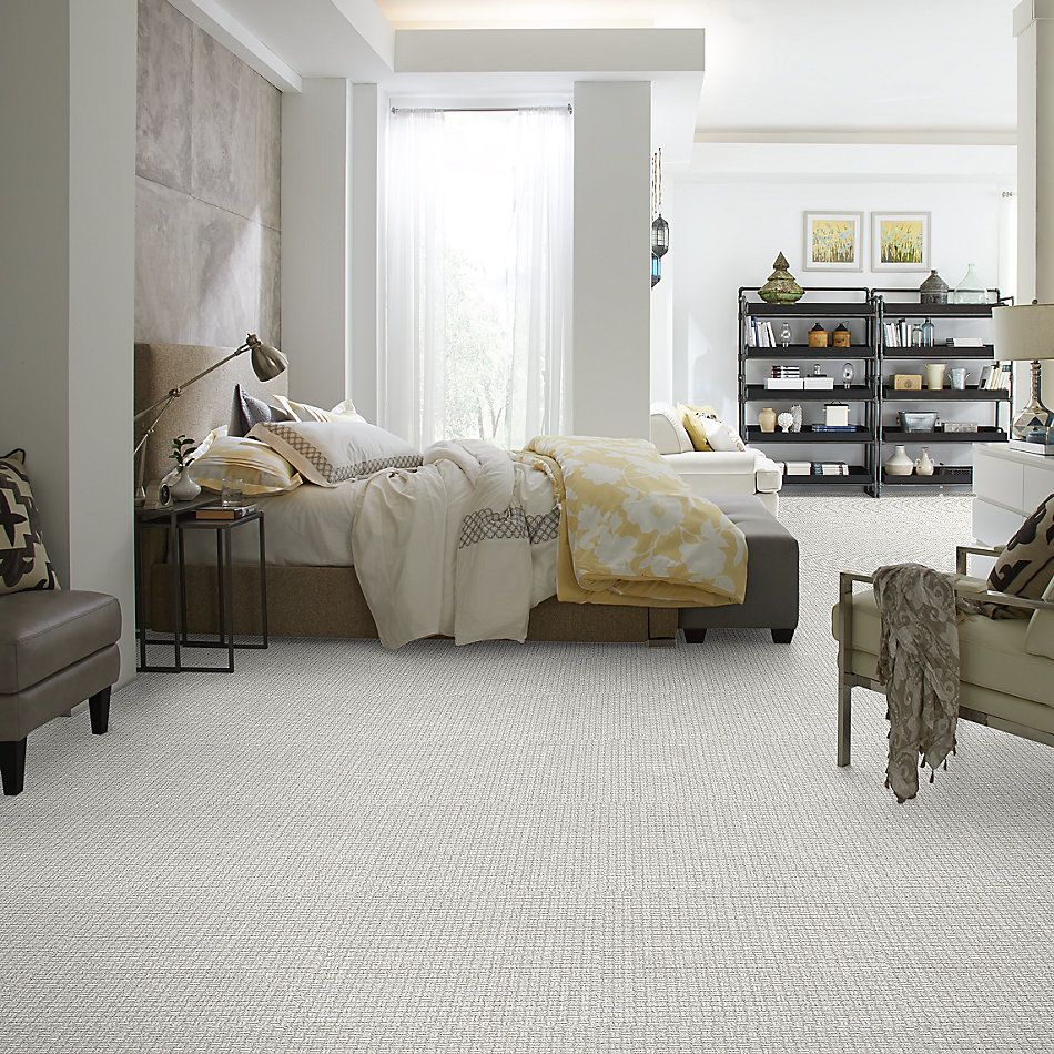 Shaw Floors Value Collections Soothing Surround Net Snow Cap 00100_5E358
