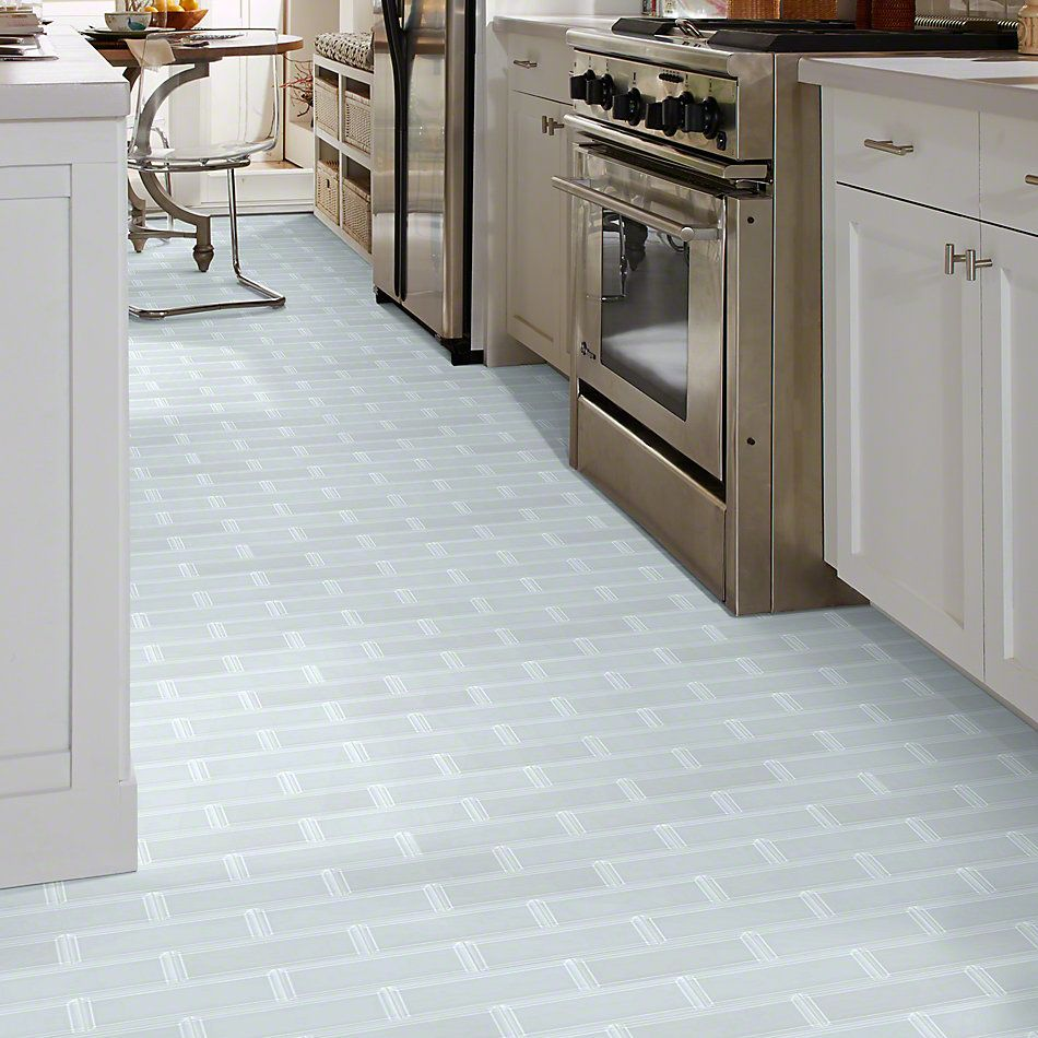 Shaw Floors Ceramic Solutions Cardinal 3×9 Beveled Glass Ice 00100_CS12Z