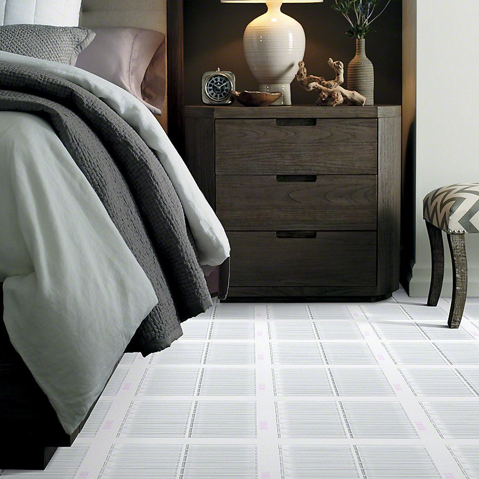 Shaw Floors Ceramic Solutions Cardinal Stacked Glass Mosaic Ice 00100_CS20Z