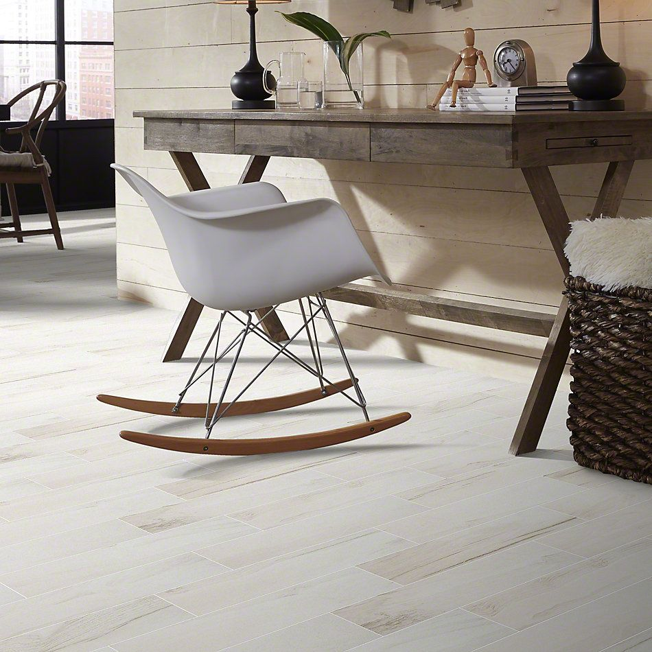 Shaw Floors Ceramic Solutions Voyage 6×24 White 00100_CS33P