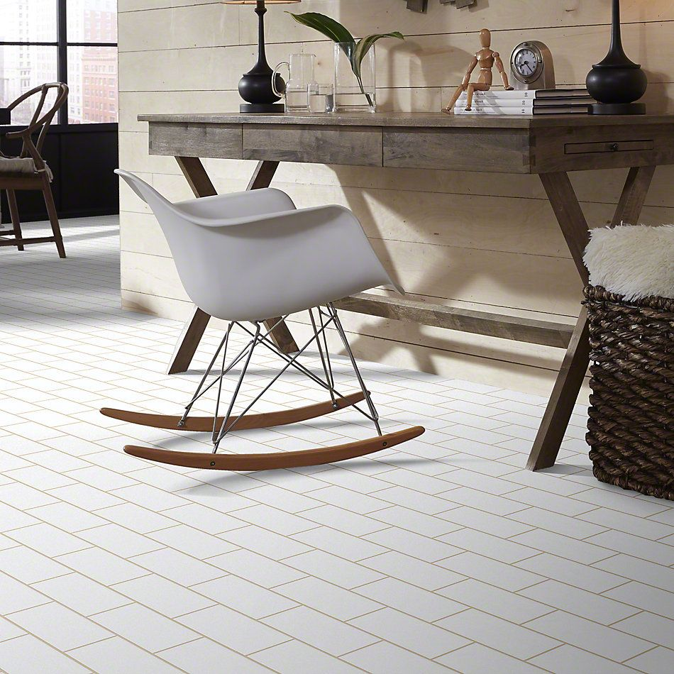 Shaw Floors Ceramic Solutions Elegance 3×6 Gloss White 00100_CS34L