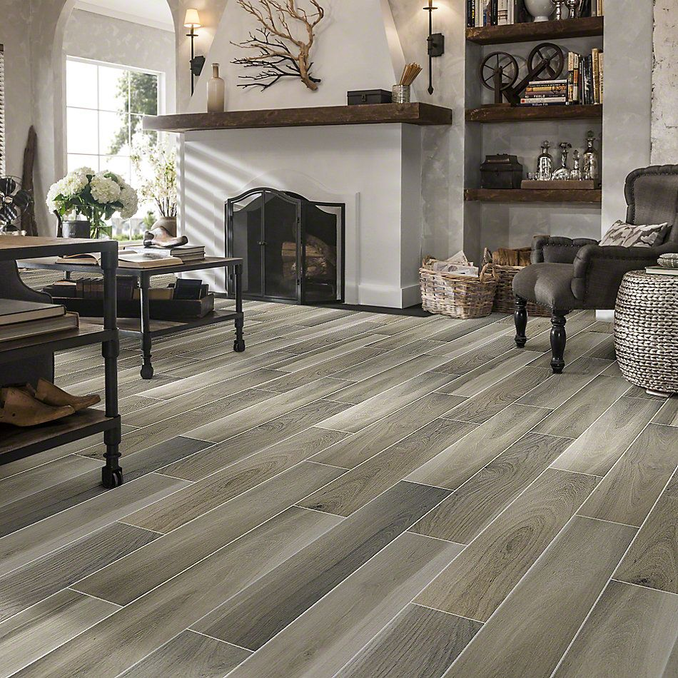 Shaw Floors Ceramic Solutions Independence 6×36 Ash 00100_CS35P