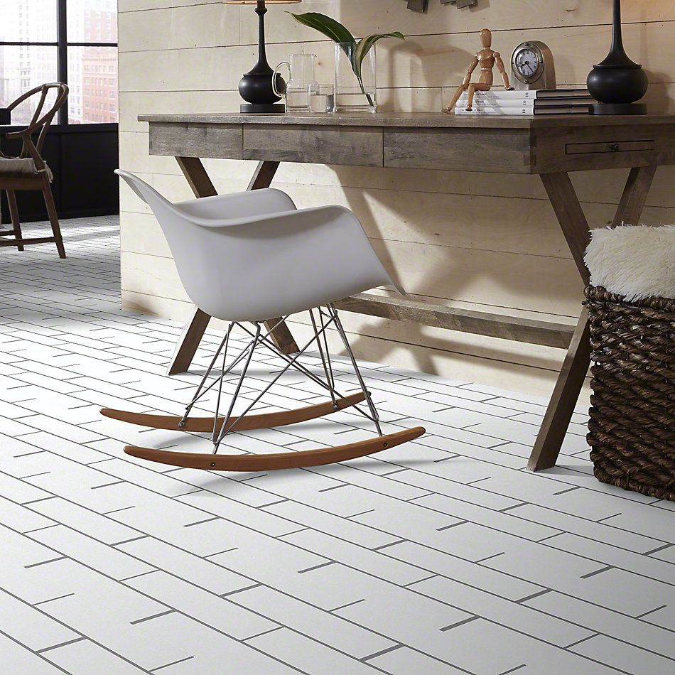 Shaw Floors Ceramic Solutions Elegance 4×16 Gloss White 00100_CS36L