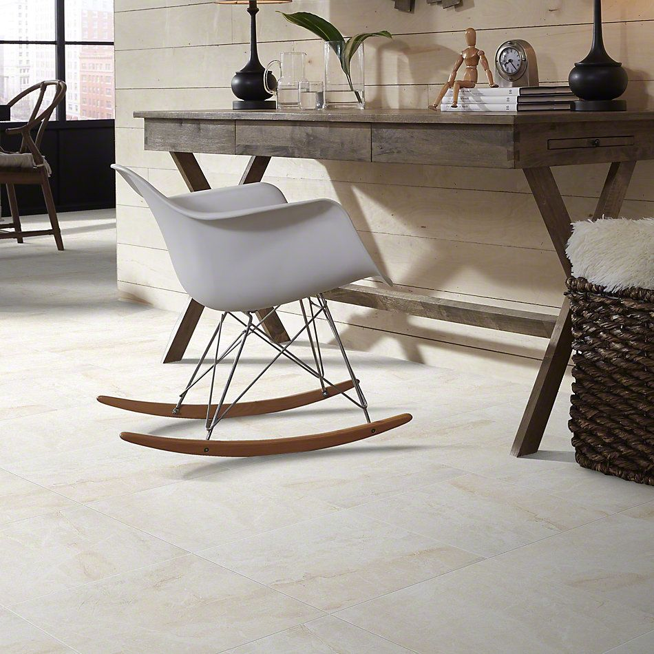 Shaw Floors Ceramic Solutions Zenith 18×18 Ivory 00100_CS37P