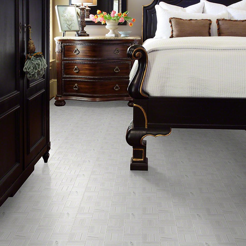 Shaw Floors Ceramic Solutions Voyage Mosaic White 00100_CS59Q