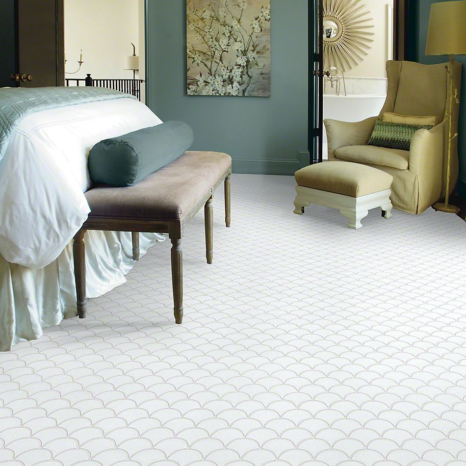 Shaw Floors Ceramic Solutions Geoscapes Fan White 00100_CS99V