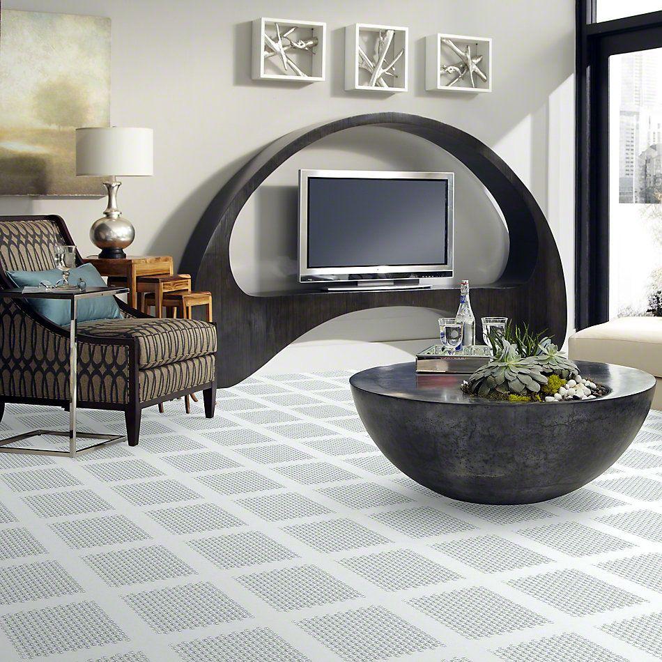 Shaw Floors SFA Paramount Penny Round Glass Mo Ice 00100_SA13A