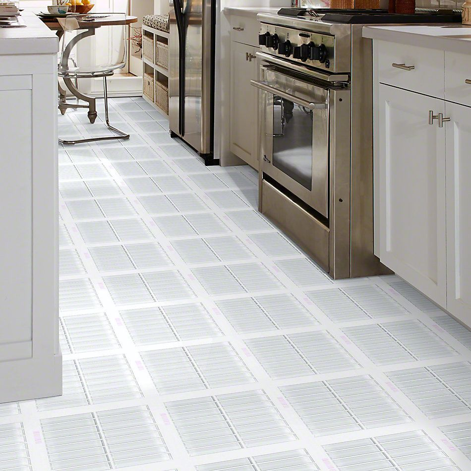 Shaw Floors SFA Paramount Stacked Glass Mosaic Ice 00100_SA15A