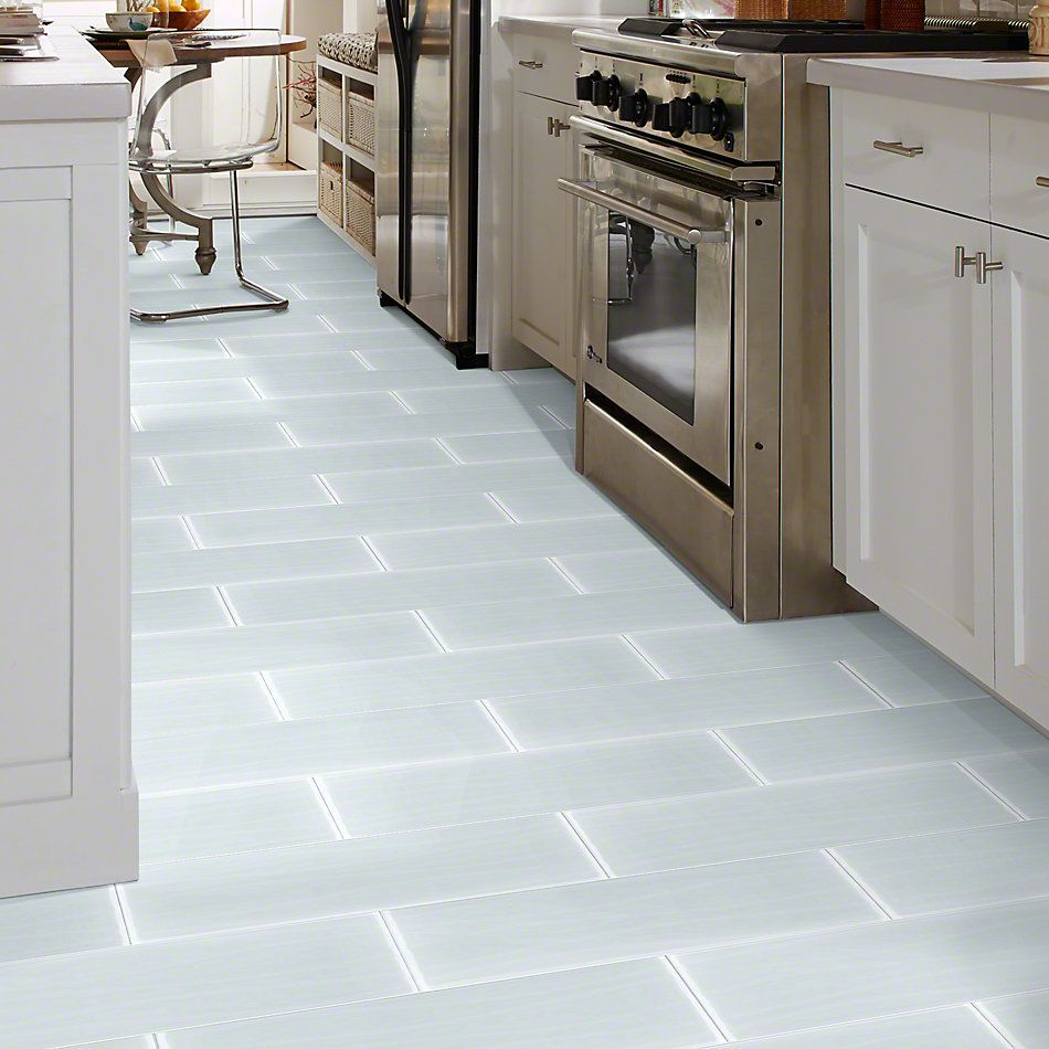 Shaw Floors Ceramic Solutions Cardinal 8×24 Wave Glass Ice 00100_CS14Z