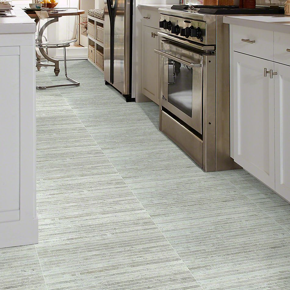 Shaw Floors Ceramic Solutions Urban Coop Stacked Mosaic Gesso 00100_CS66X