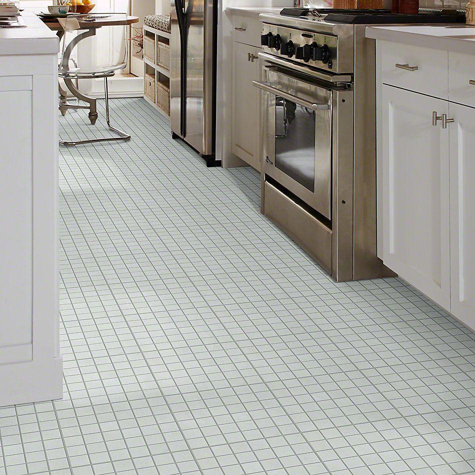Shaw Floors Ceramic Solutions Tessuto Mosaic Bianco 00100_CS70V