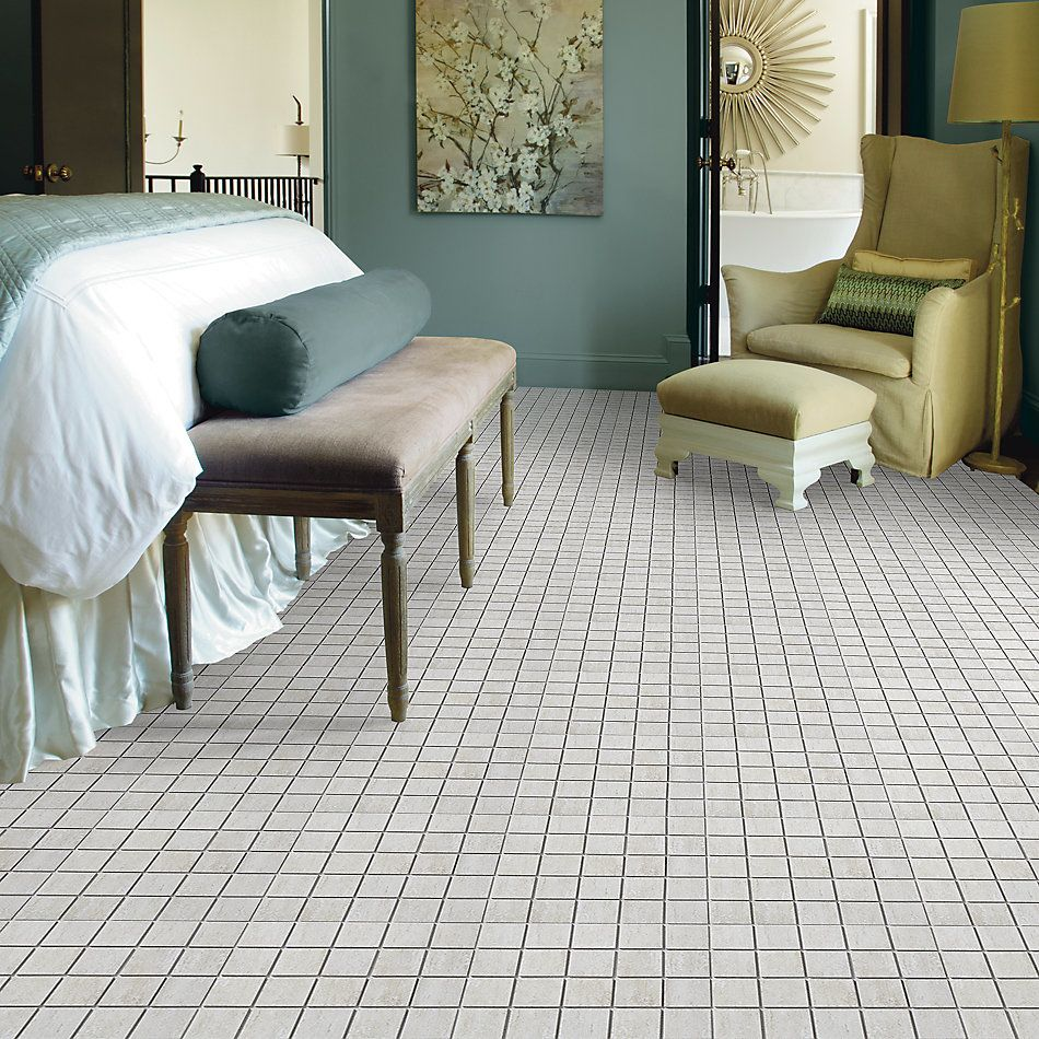 Shaw Floors Ceramic Solutions Classico Mosaic Ivory 00100_CS74F