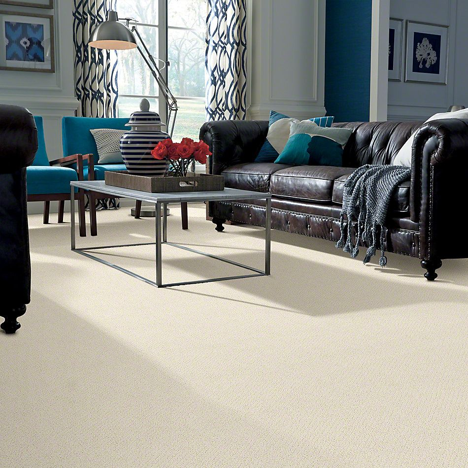 Shaw Floors Truly Relaxed Loop China Pearl 00100_E0657