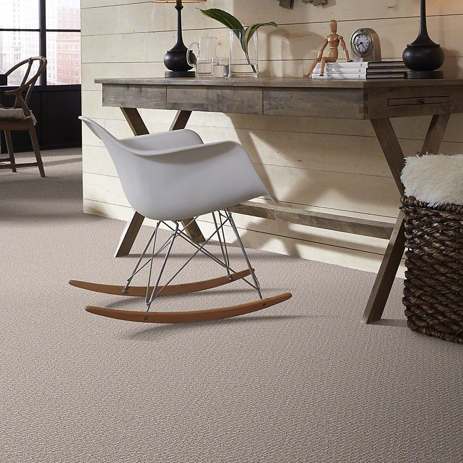 Shaw Floors Home Foundations Gold Pinpoint 12′ Oyster 00100_HGJ04