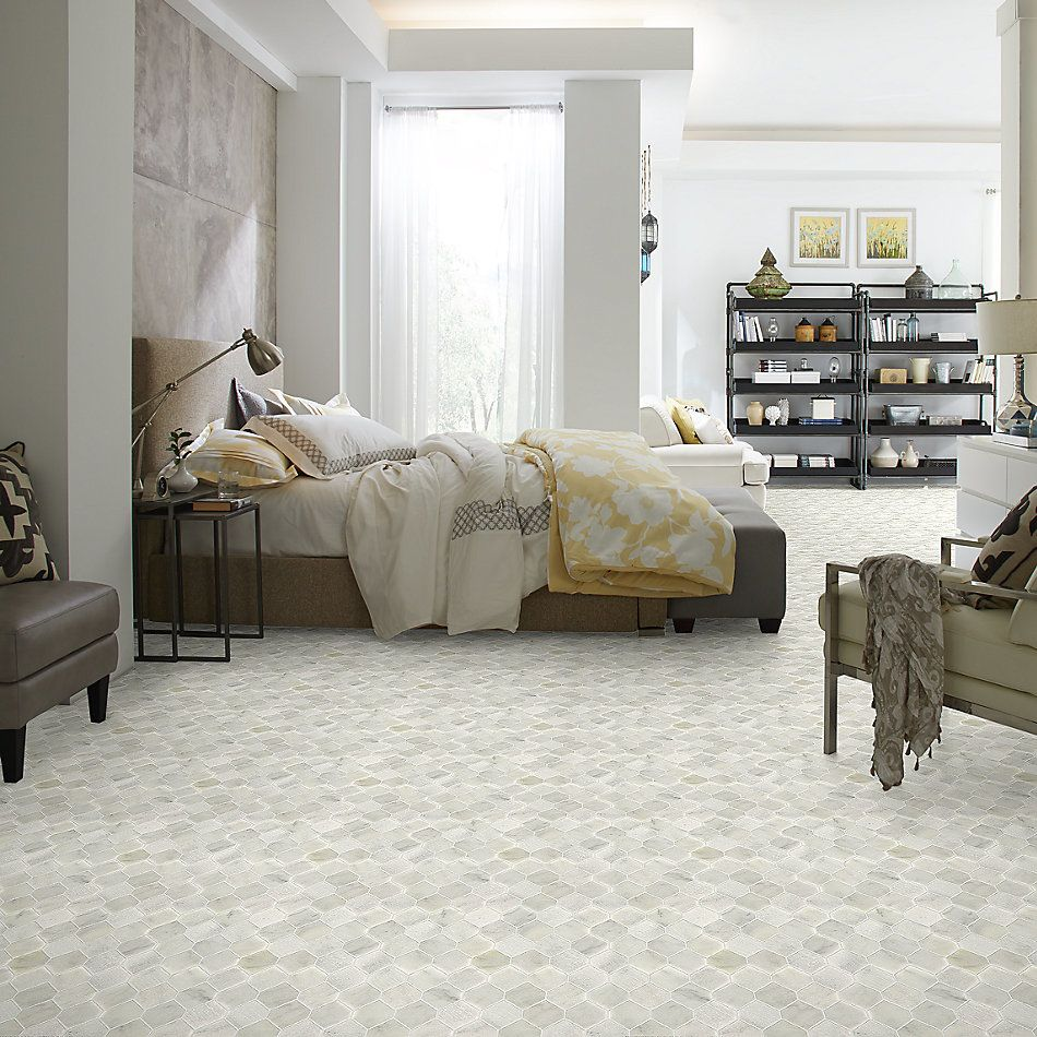 Shaw Floors Home Fn Gold Ceramic Del Ray Stret Hex Whitewater 00100_TG40C