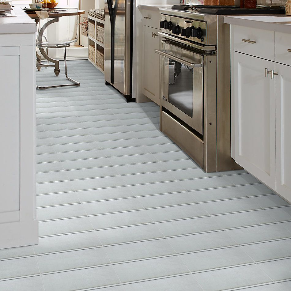 Shaw Floors Home Fn Gold Ceramic Tattered Covebase Bianco 00100_TG57A