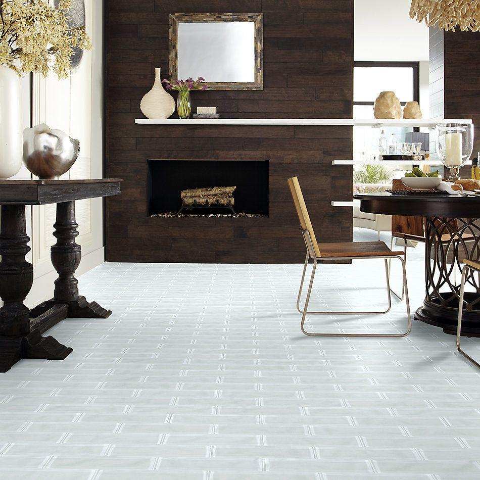 Shaw Floors Home Fn Gold Ceramic Principal 3×12 Artisan Glass Ice 00100_TG73B