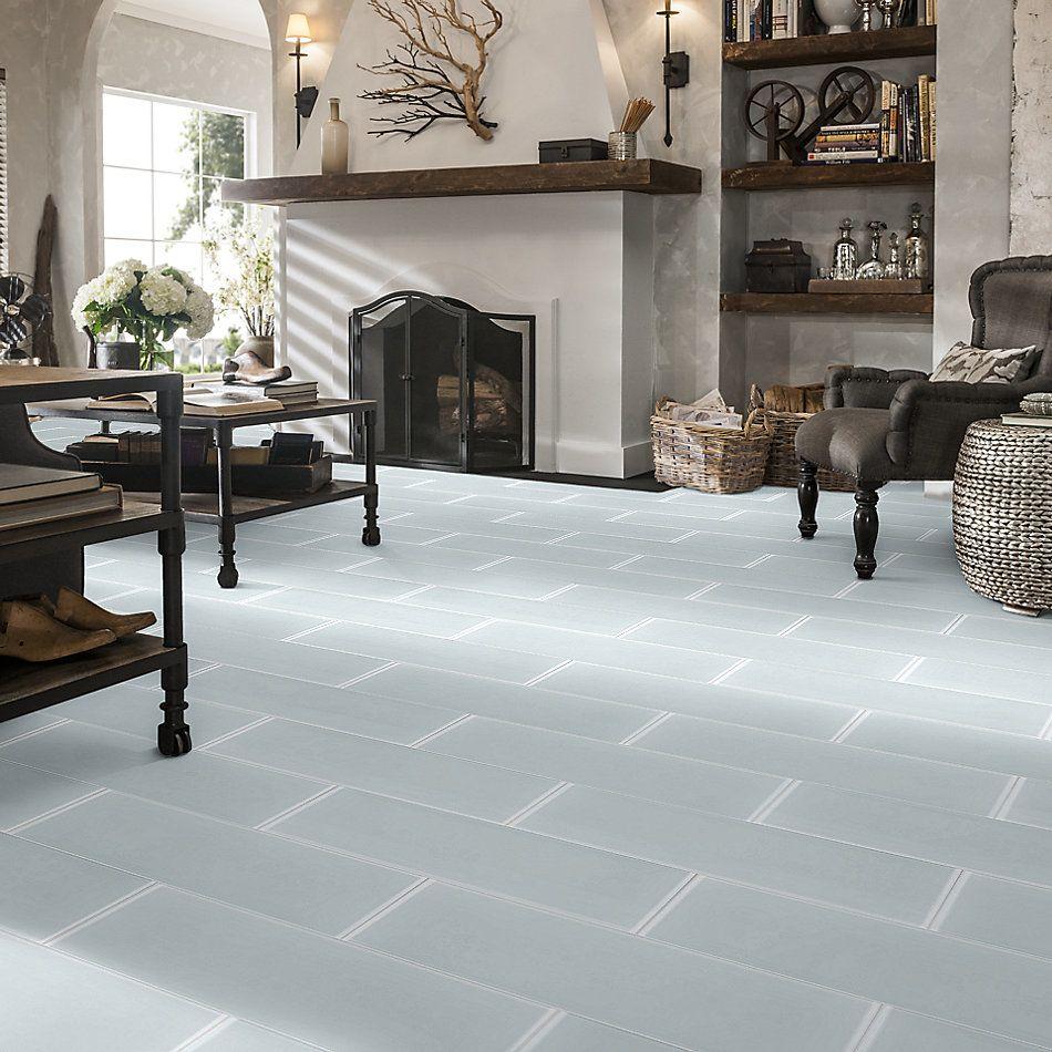 Shaw Floors Home Fn Gold Ceramic Principal 8×24 Glass Tile Ice 00100_TG76B