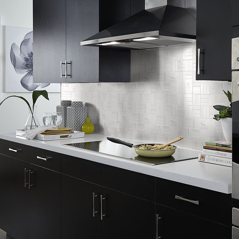 Shaw Floors Home Fn Gold Ceramic Traveler Mosaic White 00100_TGJ70