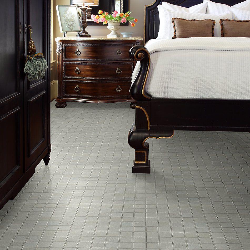 Shaw Floors Home Fn Gold Ceramic Serenity Mosaic Bone 00100_TGJ92
