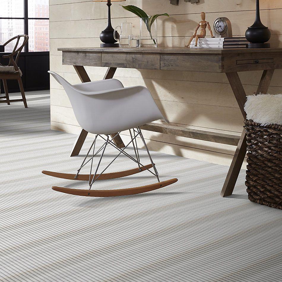 Shaw Floors Home Fn Gold Ceramic Del Ray Pencil Liner Bianco Stratus 00100_TGL56