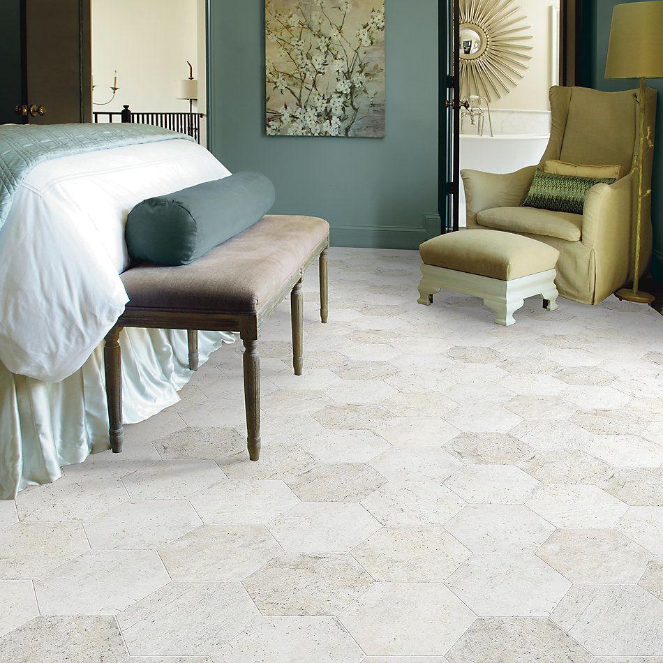 Shaw Floors Home Fn Gold Ceramic Golden Gate Hexagon Presidio 00100_TGN06