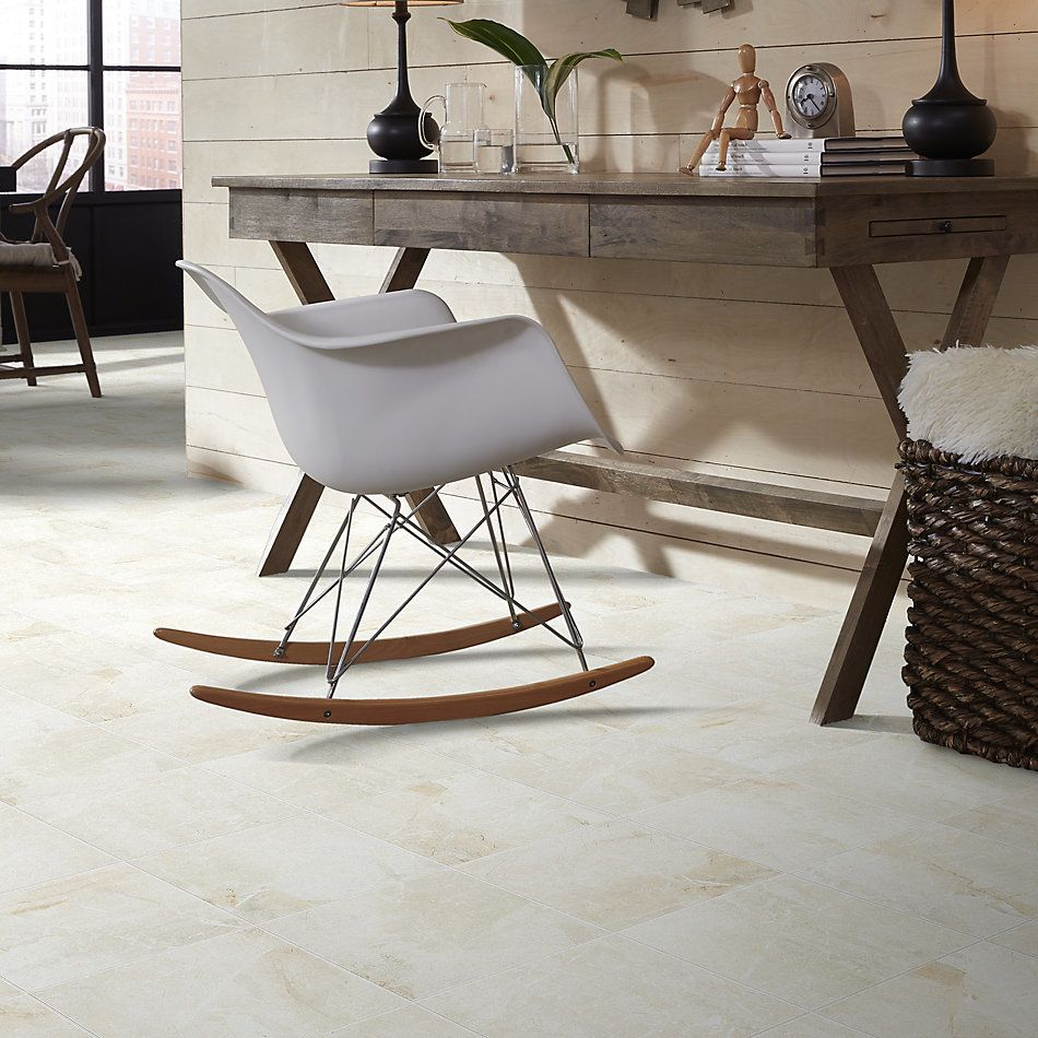 Shaw Floors Home Fn Gold Ceramic Apex 13×13 Ivory 00100_TGN67