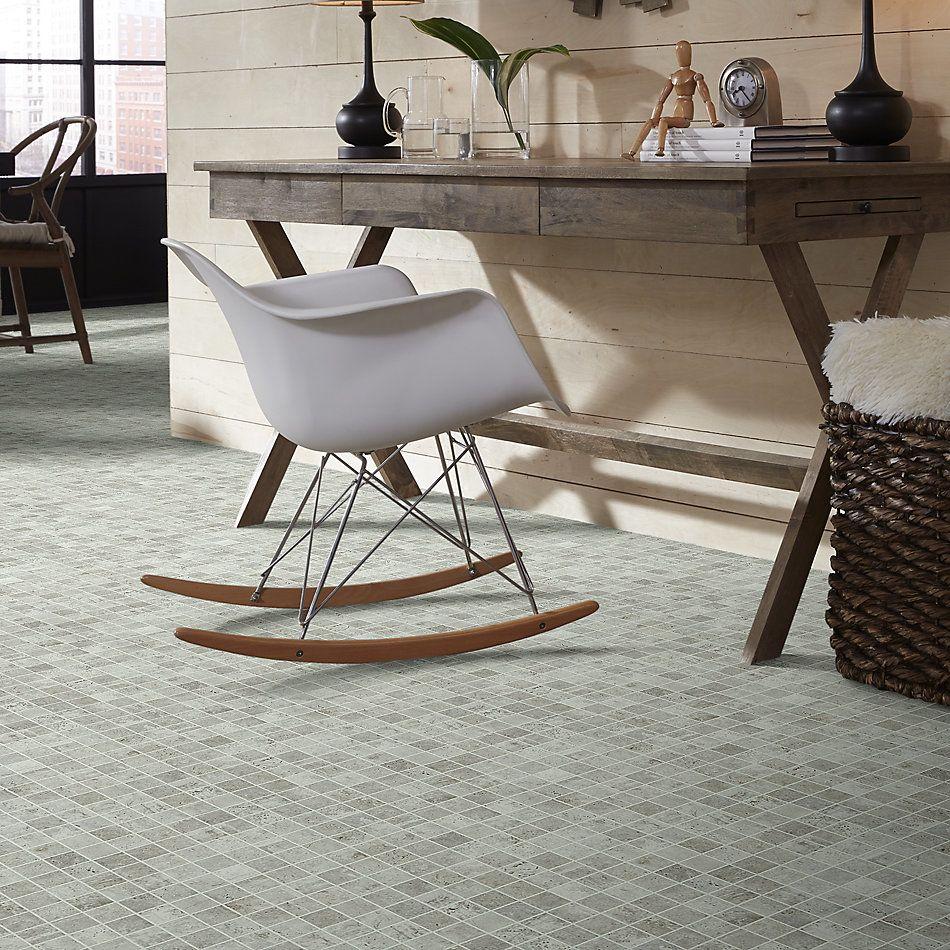 Shaw Floors Toll Brothers Ceramics Civic Mosaic Gesso 00100_TL66C