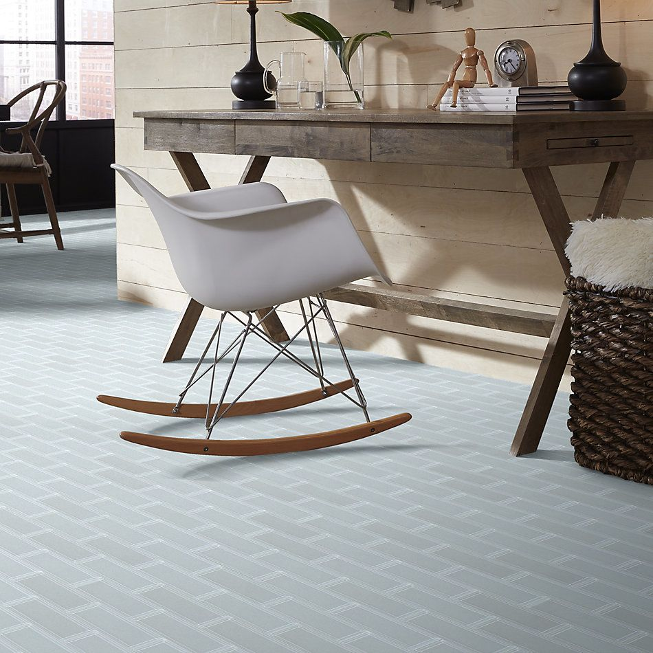 Shaw Floors Toll Brothers Ceramics Principal 3×9 Beveled Glass Ti Ice 00100_TL75B