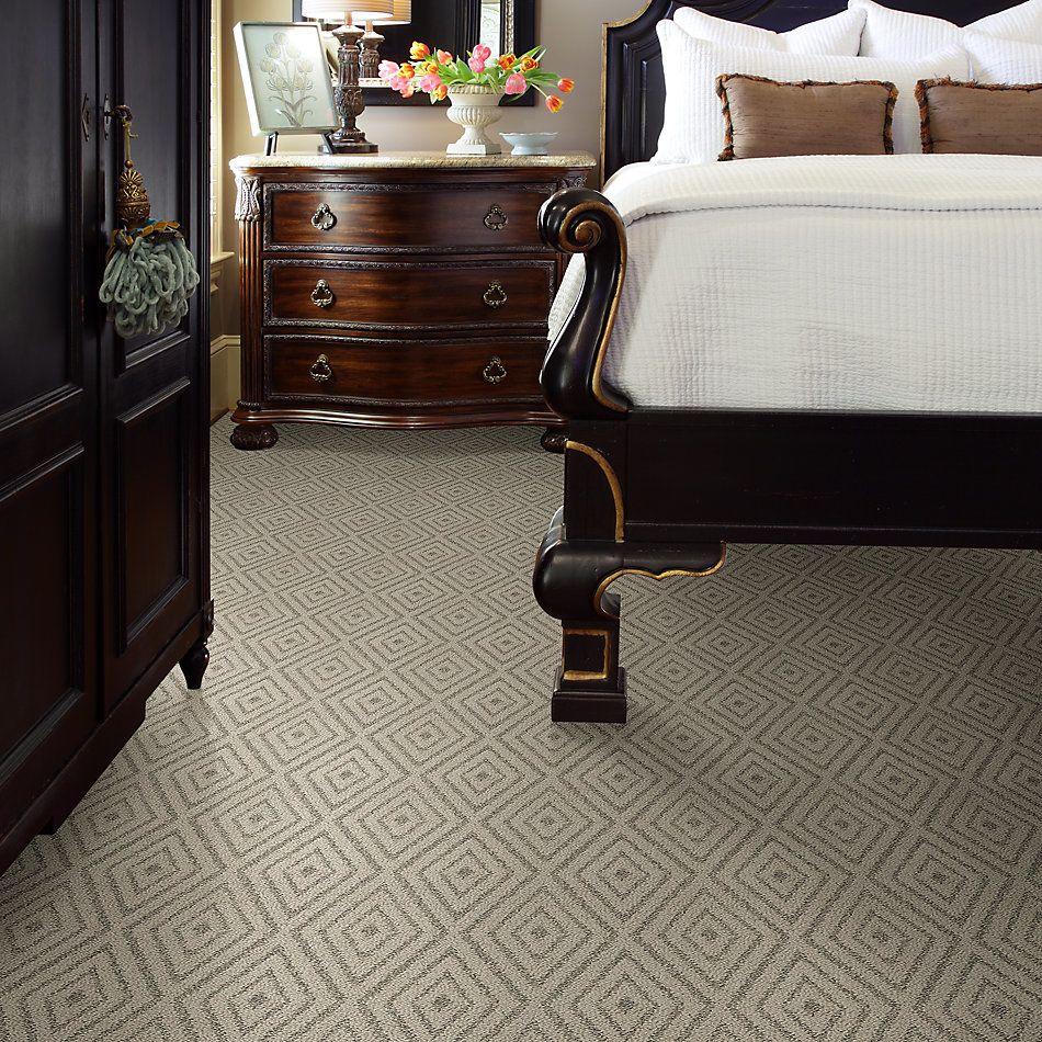 Shaw Floors Bellera Diamonds Forever Net Eggshell 00102_E9793