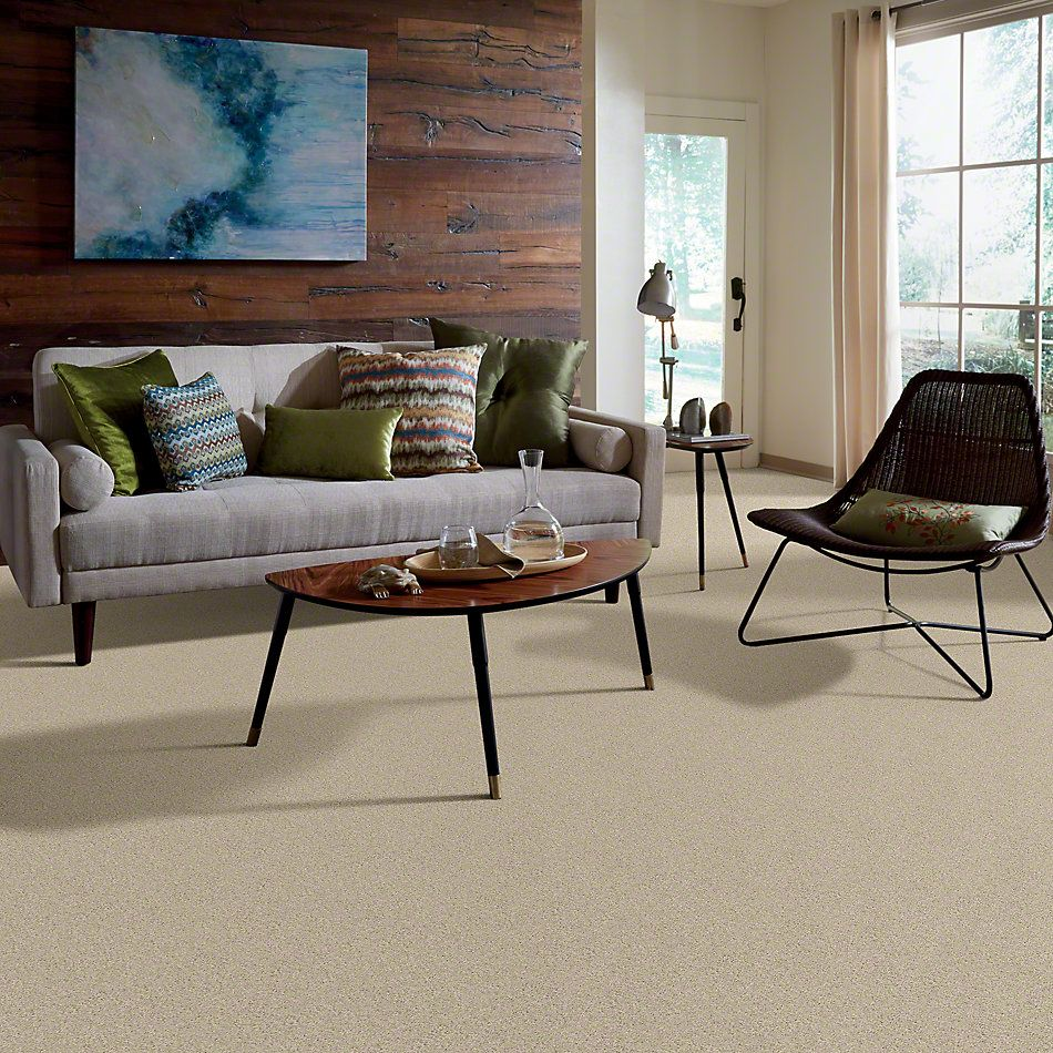 Shaw Floors Shaw Design Center Beautifully Simple II 12 Ecru 00103_5C747