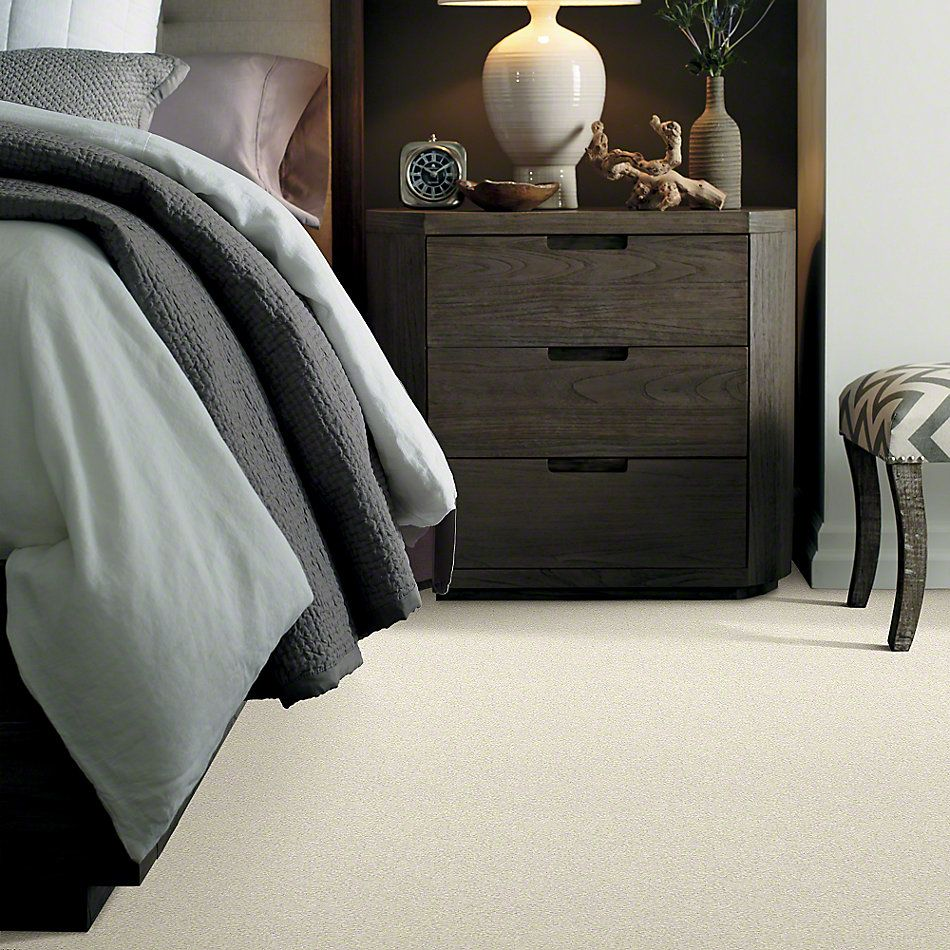 Shaw Floors Anso Colorwall Platinum Texture 12′ Fine China 00104_EA572
